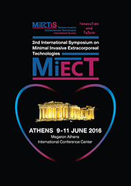 2nd INTERNATIONAL SYMPOSIUM ON MINIMAL INVASIVE EXTRACORPOREAL TECHNOLOGIES (MiECT)